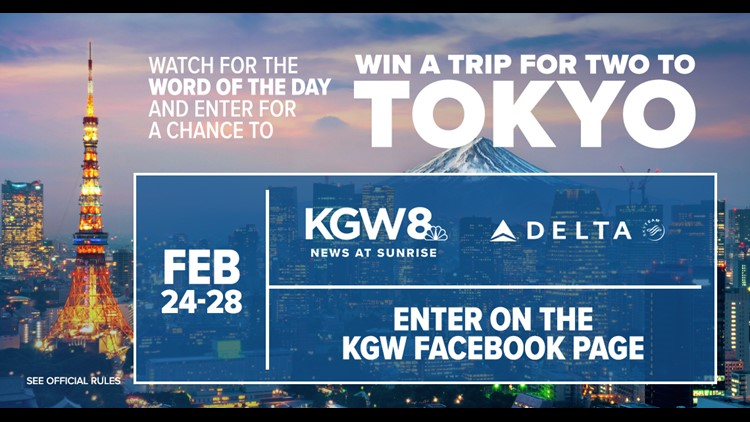 KGW's Tokyo Word of the Day Sweepstakes