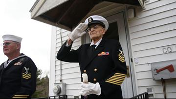 WWII veteran Robert Coles leaves Maine for Pearl Harbor