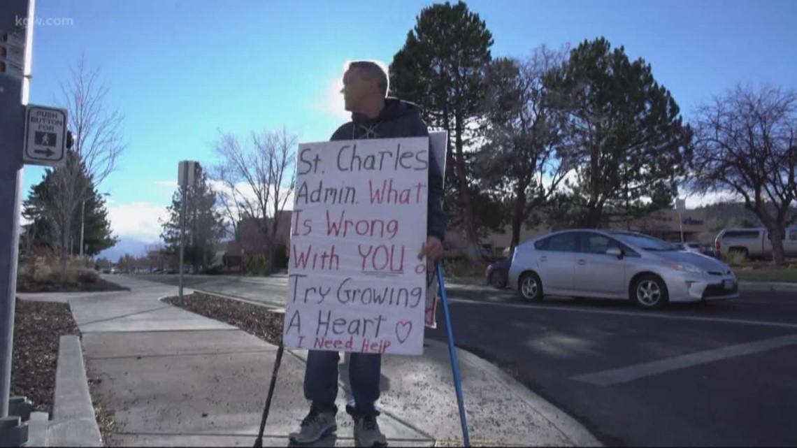 INSTANT MILLIONAIRE: Oregon Megabucks millionaire stands on the sidewalk 'begging for help'