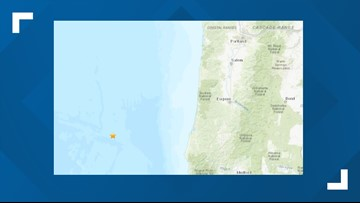 4.6 quake Monday morning off Southern Oregon coast