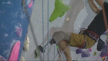Reach the top with an adaptive climbing group