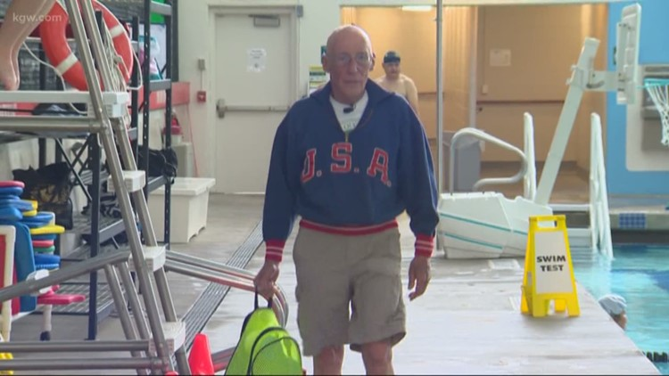 Meet the Oregon 1956 Olympian still going strong in the pool