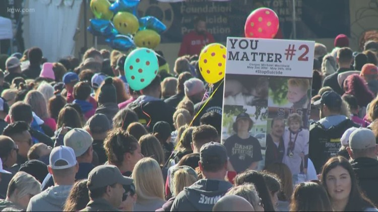 'Out of Darkness' walk held in Portland