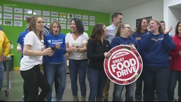 KGW Great Food Drive sets a new record for donations