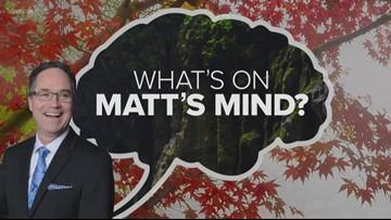 What's on Matt's mind? Rare salt formations