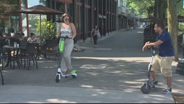 They're back: E-scooters once again on Portland city streets