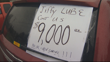 Jiffy Lube franchise pays Oregon man $9K over disputed oil change
