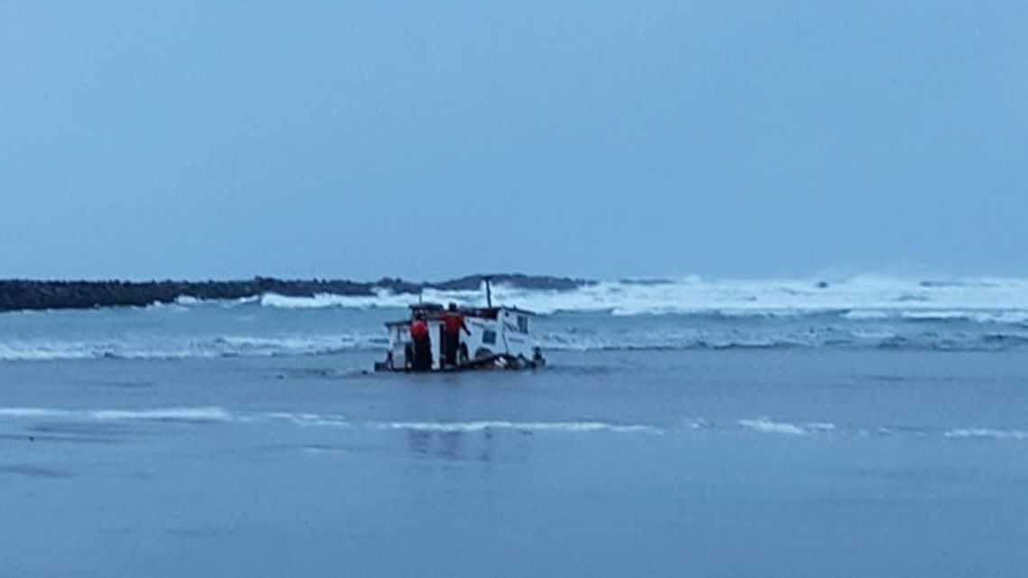 Friend Texted Crewman Who Died With 2 Others In Yaquina Bay Capsize