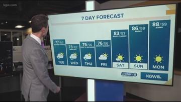 KGW Sunrise forecast: 7-16-19
