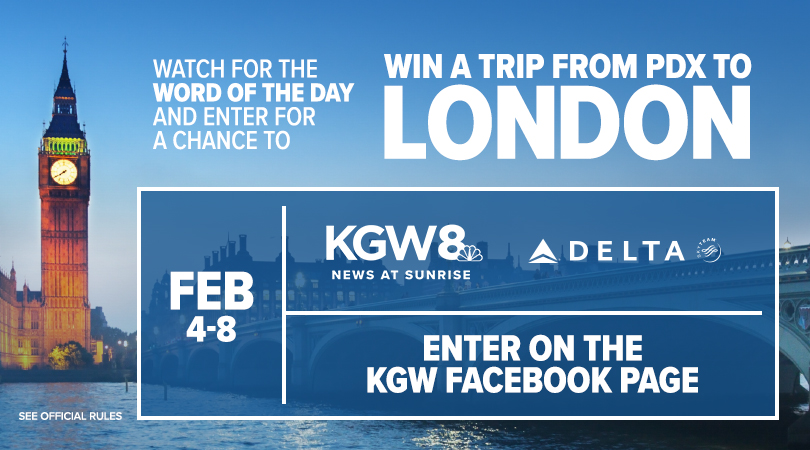 KGW's London Word of the Day Sweepstakes