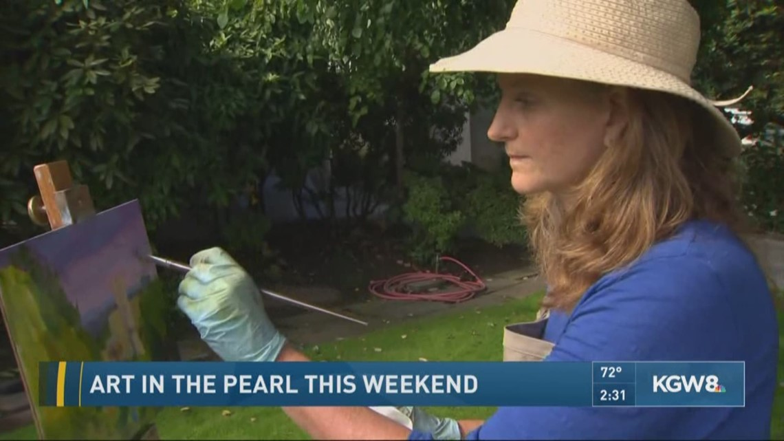Art in the Pearl This Weekend