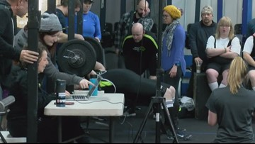 Lane County holds Special Olympics weightlifting meet