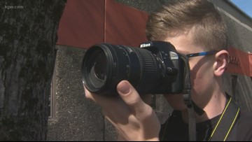 Vancouver student finds photography after sport injuries