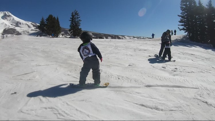 Kids who once thought skiing, boarding was impossible enjoy the slopes