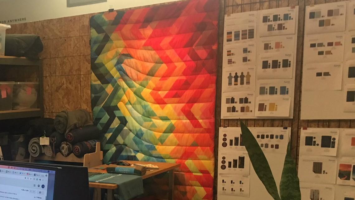 Blanket company born in Bay Area moves