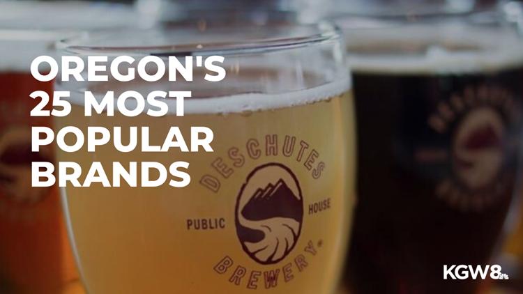 Oregon's 25 most Googled brands for 2019