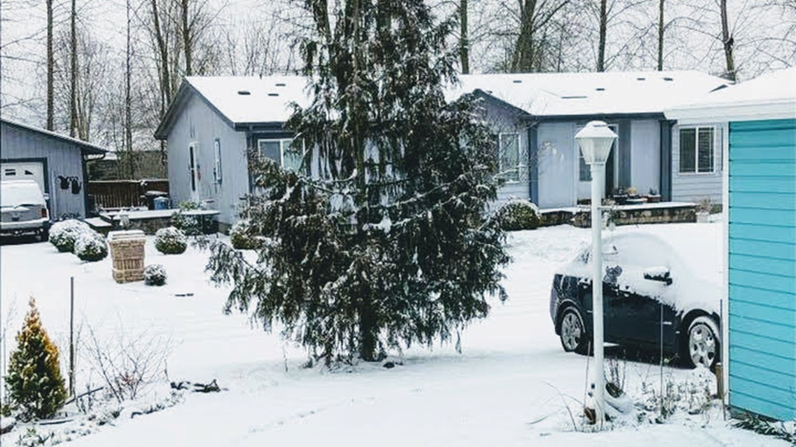 With snow levels on the rise, Portland will see some rain showers