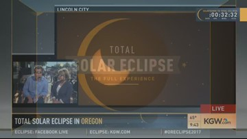 Archive video: The Great American Eclipse in Oregon