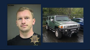 Oregon Bottle Drop burglar used stolen cash to gamble and buy Hummer, police say
