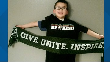 Portland Timbers recognize student's big act of kindness
