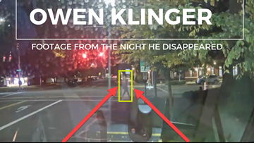 Police release TriMet video of Owen Klinger the night he disappeared