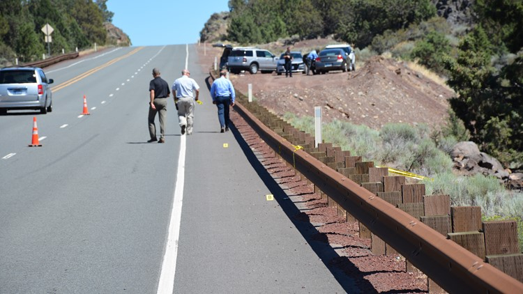 Crime Scene photo from the location where Kaylee's body was found