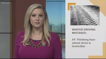 Good to Know: Common winter driving mistakes