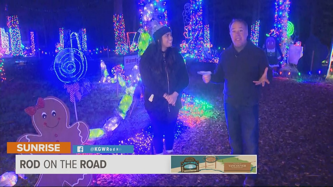 Rod on the Road: Christmas in the Oregon Garden