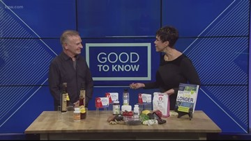 In focus: KGW Sunrise anchor Brenda Braxton gets middle age health tips from nutritionist Jonny Bowden