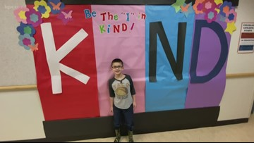 Vancouver second grader raising money to pay off school's lunch debt