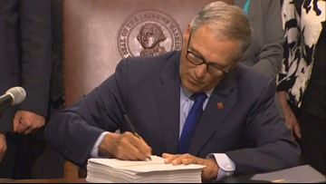 Gov. Inslee signs bill changing tax exemption for Oregonians