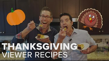 3 KGW Sunrise viewers, 3 Thanksgiving Recipes!