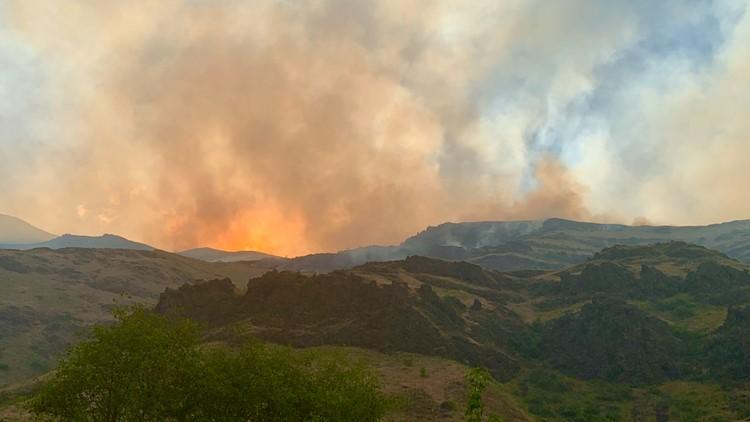 Fire season starts early in NE Oregon