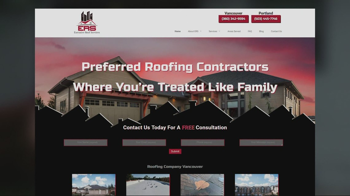 Roofing company that sued Vancouver couple after bad review goes offline