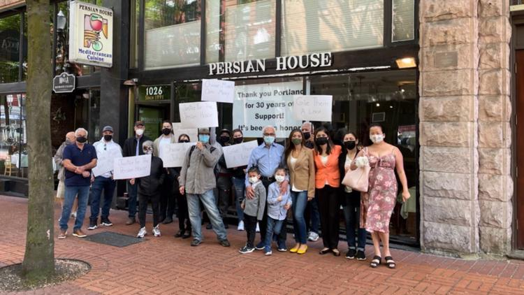 Downtown Portland's Persian House restaurant closing after 30 years