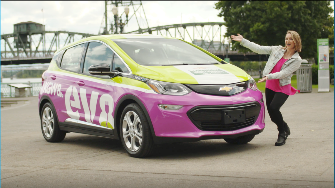 Say 'hello' to KGW's first electric car!