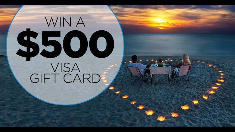 Starting Monday, April 30, 2018 through Friday, May 4, 2018, you could win a $500 VISA gift card! You could go on a weekend getaway or indulge yourself with a shopping spree!