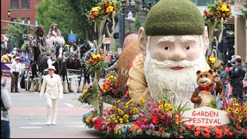 Floats, marching bands and vintage cars: Grand Floral Parade brings thousands to Portland