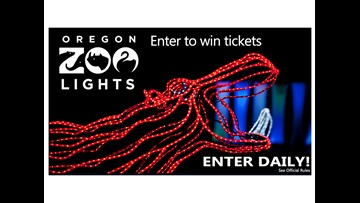 Oregon ZooLights - Enter for your chance to win tickets!
