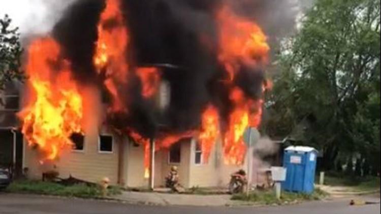 North Portland house fire ruled arson