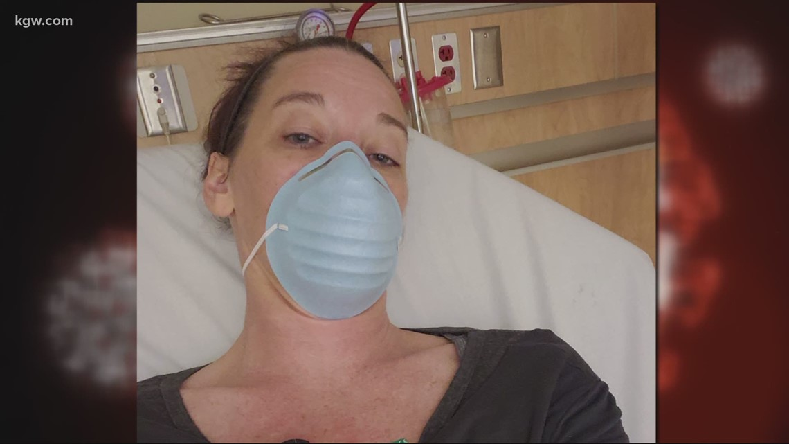 'I still have symptoms every day': Oregon City woman on day 53 of COVID-19 battle