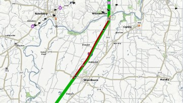 Southbound lanes of I-5 reopened near Woodburn after multi-vehicle crash