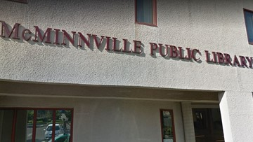 Man stabbed at McMinnville library; suspect arrested