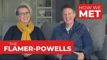 How We Met: The Flamer-Powells