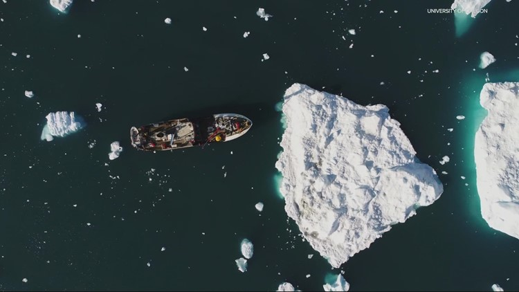 UO researcher to study trickle-down effect of melting Greenland glaciers