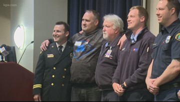 Clackamas Fire District honors life savers