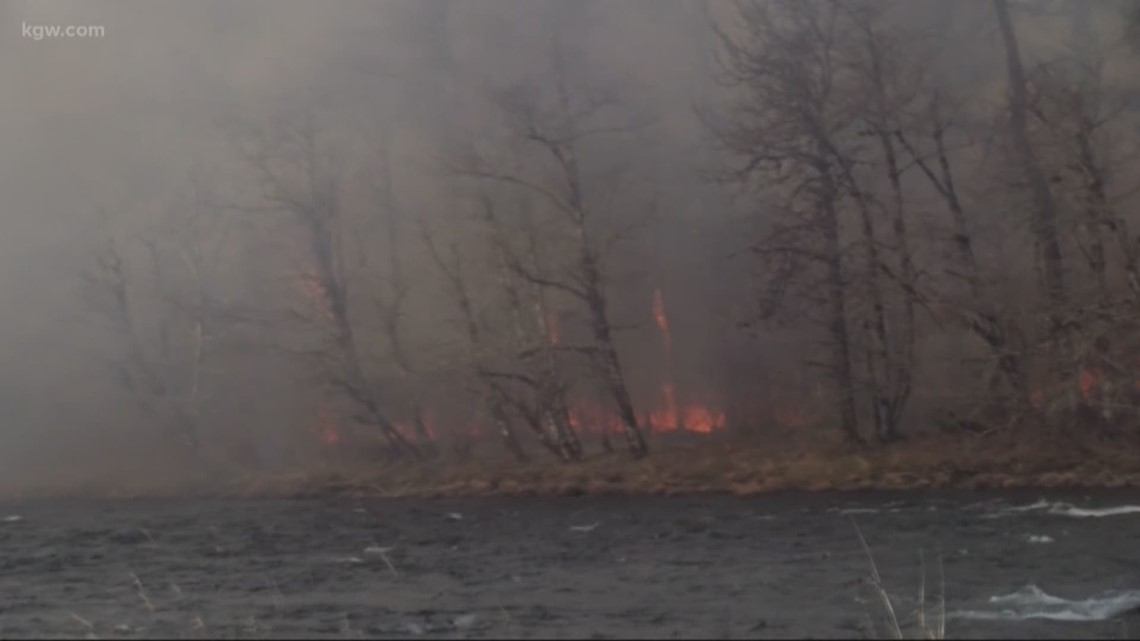 Early fires spark west of the Cascades. What does this mean for the upcoming fire season?