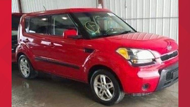 Missing Oregon mother Erin McClintock's car