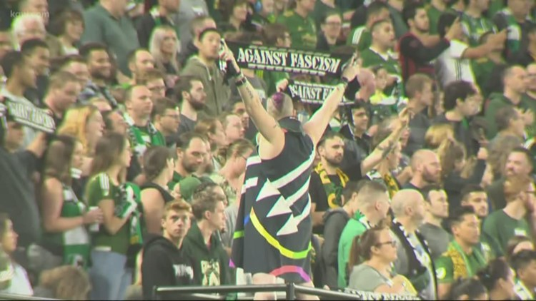 Timbers Army meets with MLS over 'political' signs