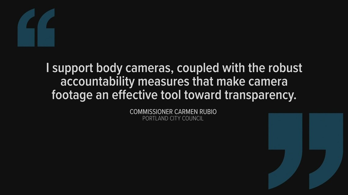 Portland city commissioners push for police body cams